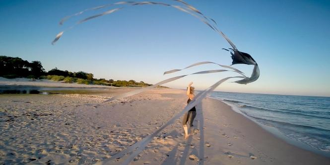 Backåkra strand, Österlen. Foto av Erik Åberg