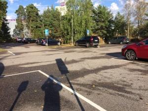 Parkering stadshuset