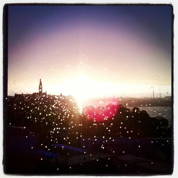 Regn och sol