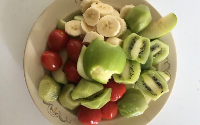 Frukt liggande